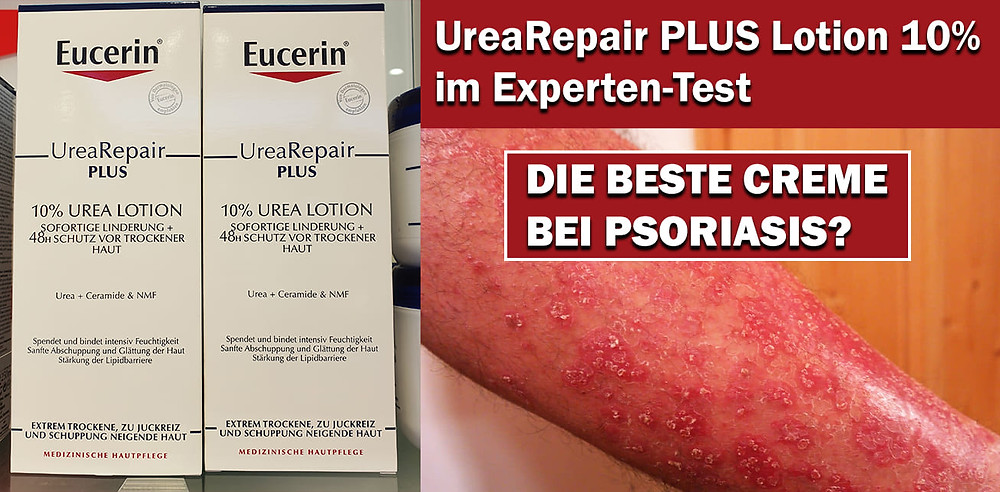 eucerin urearepair plus lotion test