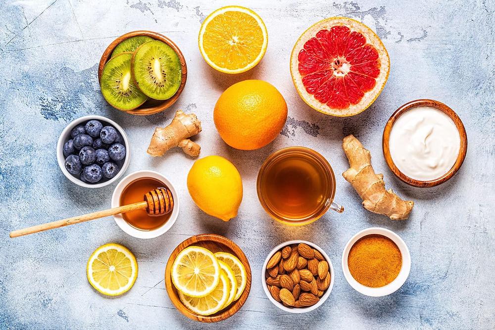 Abwehrkräfte mit gesunder Ernährung stärken