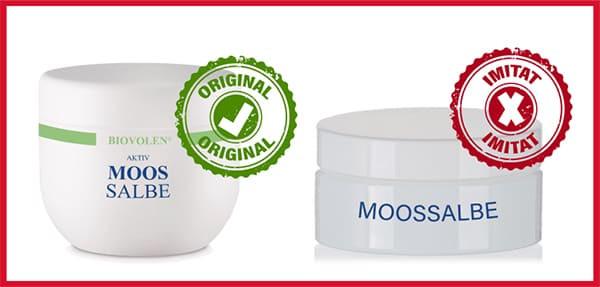 moossalbe original und fälschung