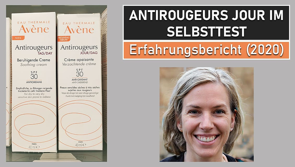 avene antirougeurs jour test