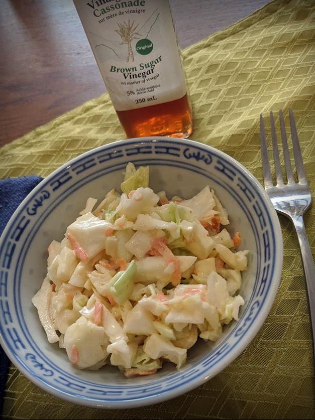 Salade de choux crémeuse