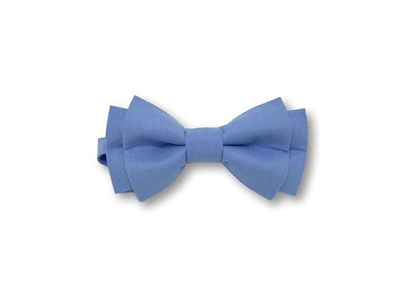 Noeud papillon bleu pré-noué