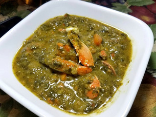Callaloo with King Crab