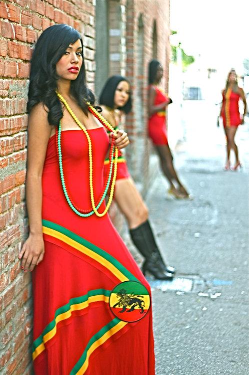 Sleeveless Zion Long Dress