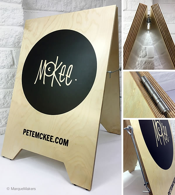 Handmade Wooden Pavement Signs Amp A Boards Marquemakers