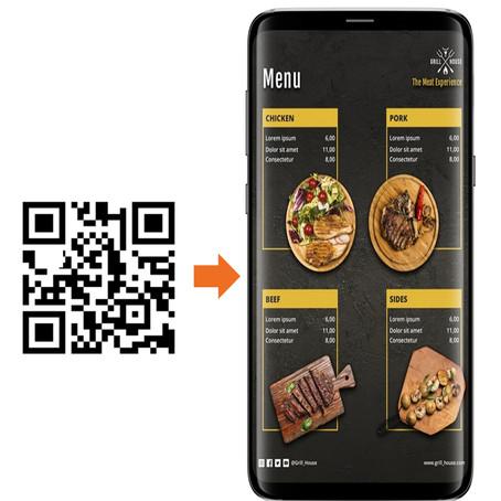 Generador de menú QR gratis