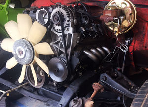 67 C10 Project Update: Installing a New Engine in an Old Truck