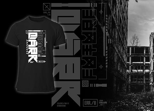 Dark Future Future Art Cyberpunk Collection FRAX STORE