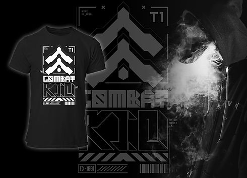 Combat Kid Future Art Cyberpunk Collection FRAX STORE