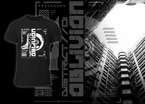 District Oblivion Future Art Cyberpunk Collection FRAX STORE