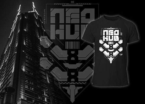 Neo Hub Future Art Cyberpunk Collection FRAX STORE
