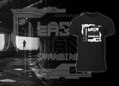 Last Man Standing Future Art Cyberpunk Collection FRAX STORE