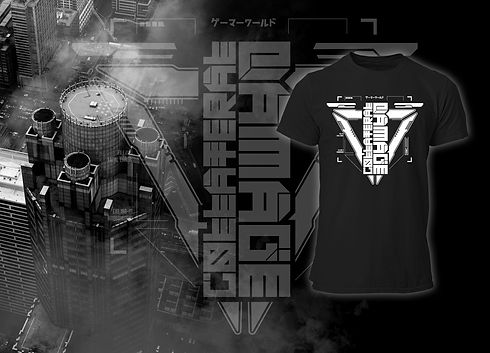 Collateral Damage Future Art Cyberpunk Collection FRAX STORE