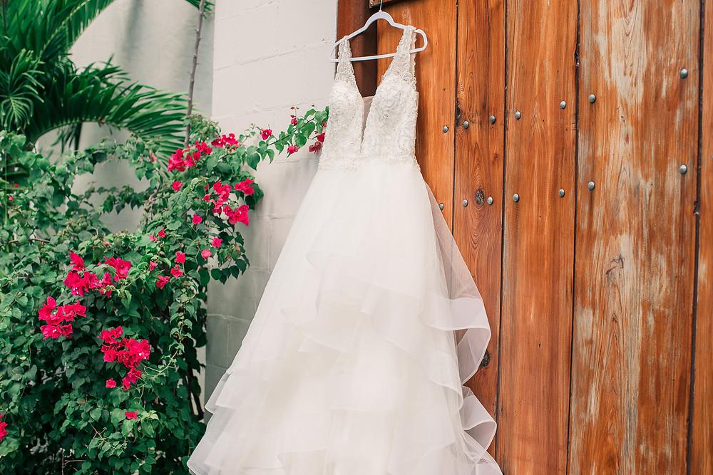 Wedding Dress Industrial wedding venue