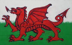 felted welsh flag.jpg