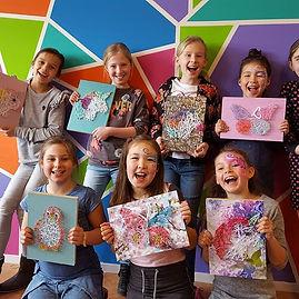 Kinderfeestjes bij De Creatafel. Voor jongens en meisjes.