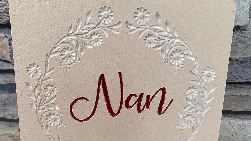 Nan plaque