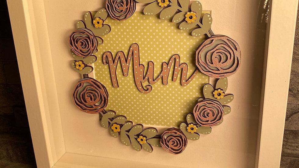 Mum box frame