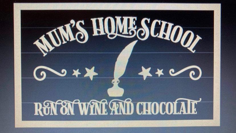 Mums home school