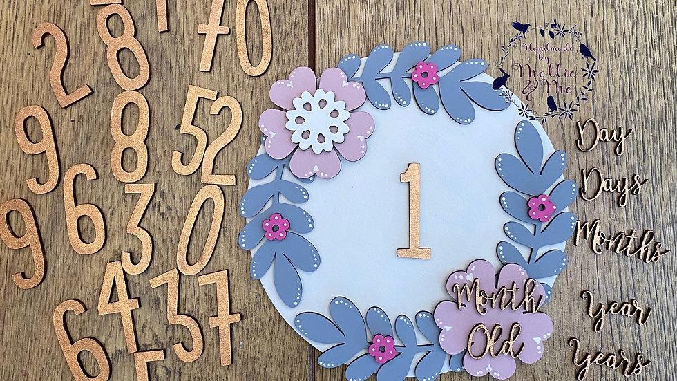 Milestone for babies boy/girl