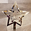 Thumbnail: silver mirror personalised Christmas tree topper