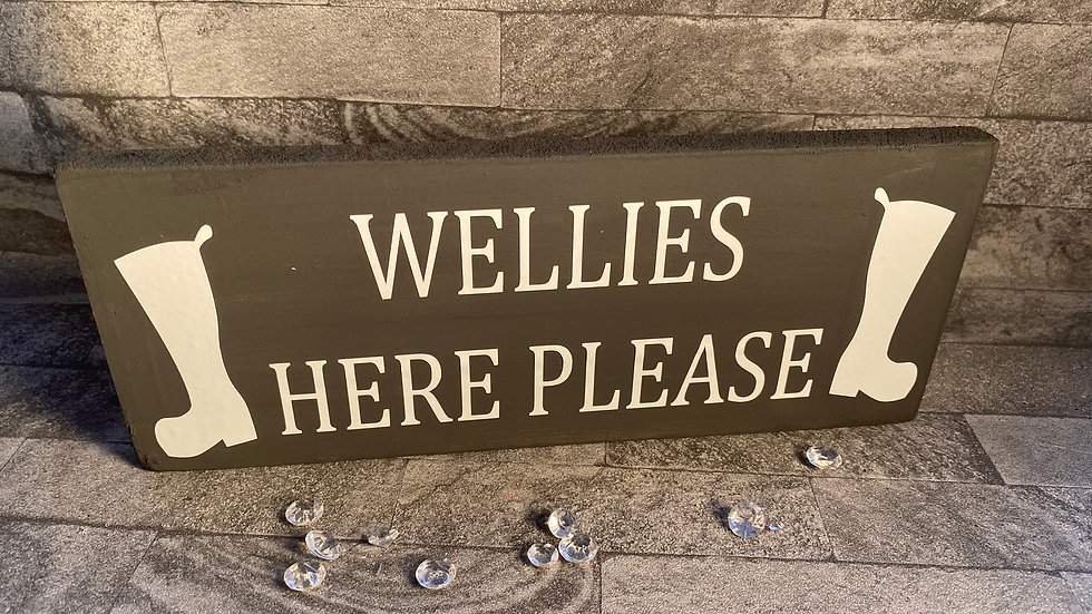 Wellies here please