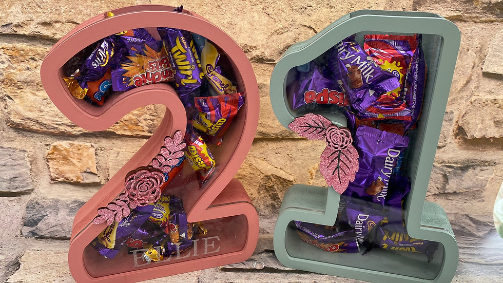21 Fillable numbers for birthdays (any2 numbers)