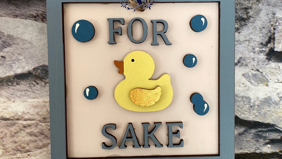 For duck sake