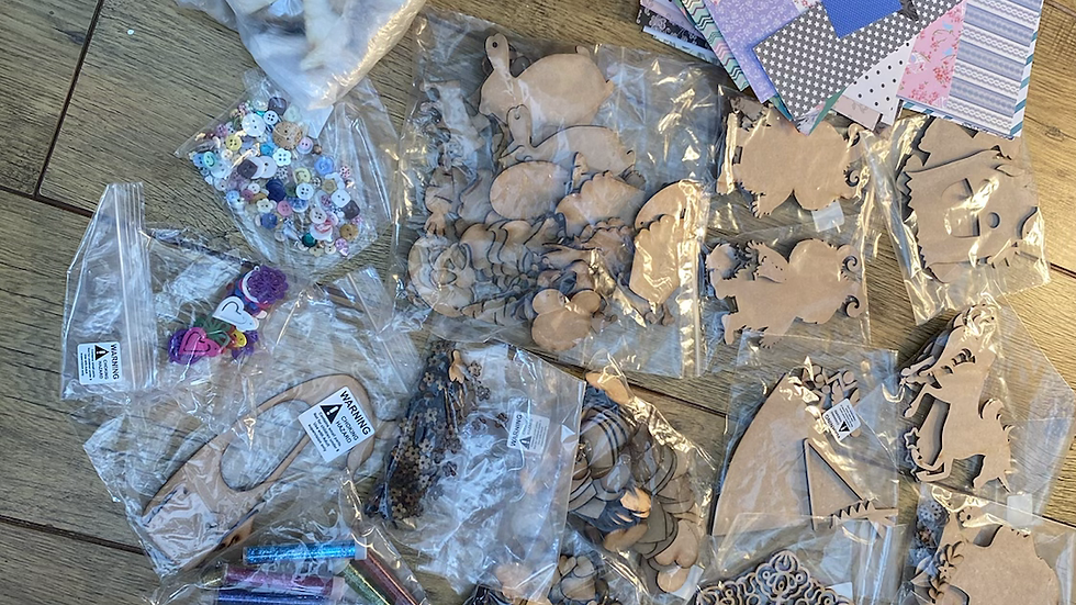 Massive craft pack for children