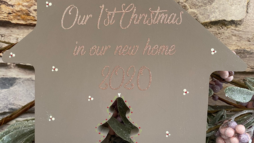 Our 1st Christmas in our new home 2020