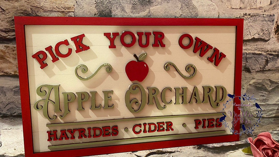 Pick your own apple orchard