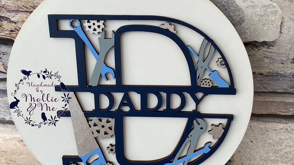 D Daddy tool letter