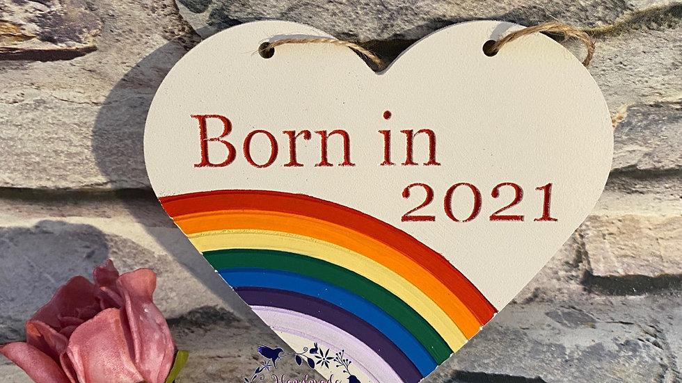 Born in 2021
