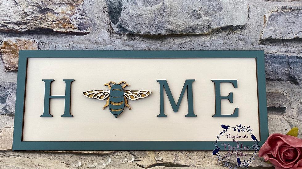 Home bee plaque