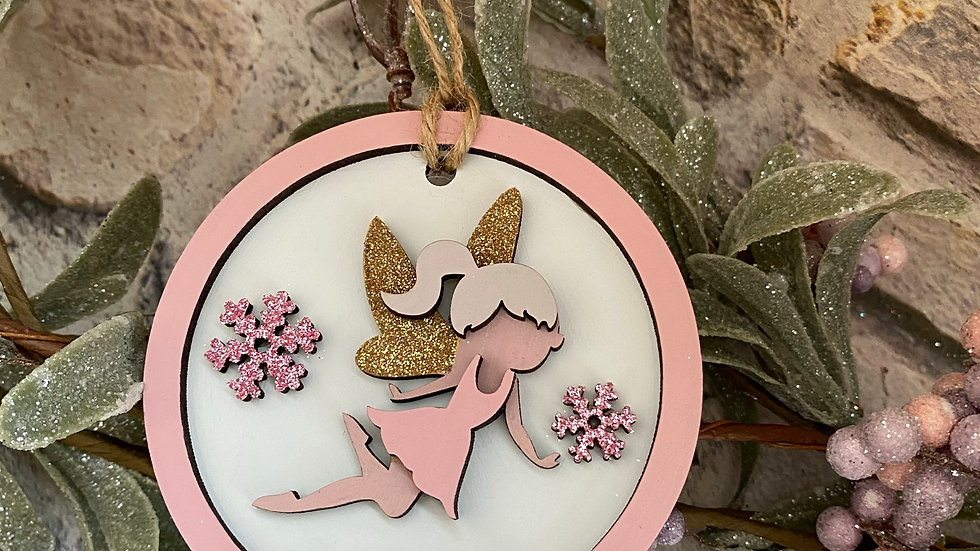 Christmas Fairy snowglobe