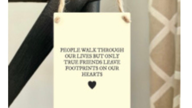 People walk through  our lives