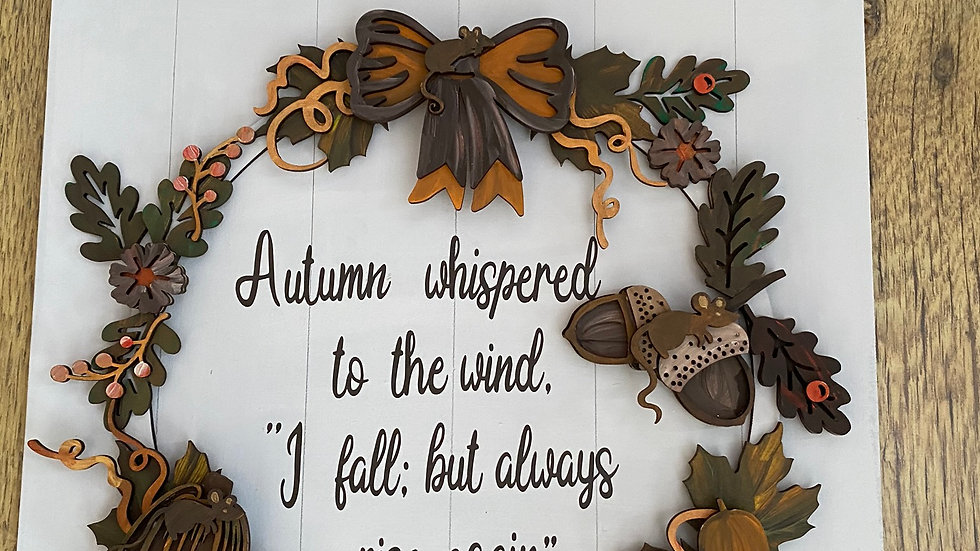 Autumn whispered
