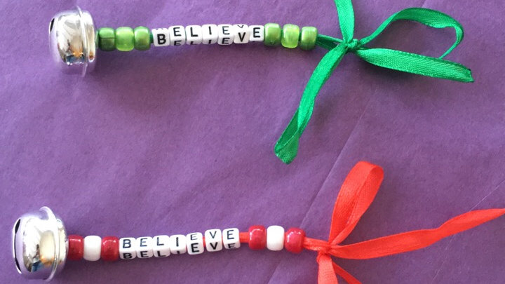Believe Bell keyrings