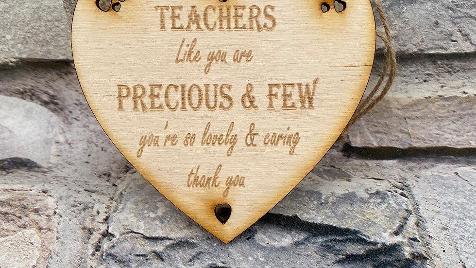 Teachers heart