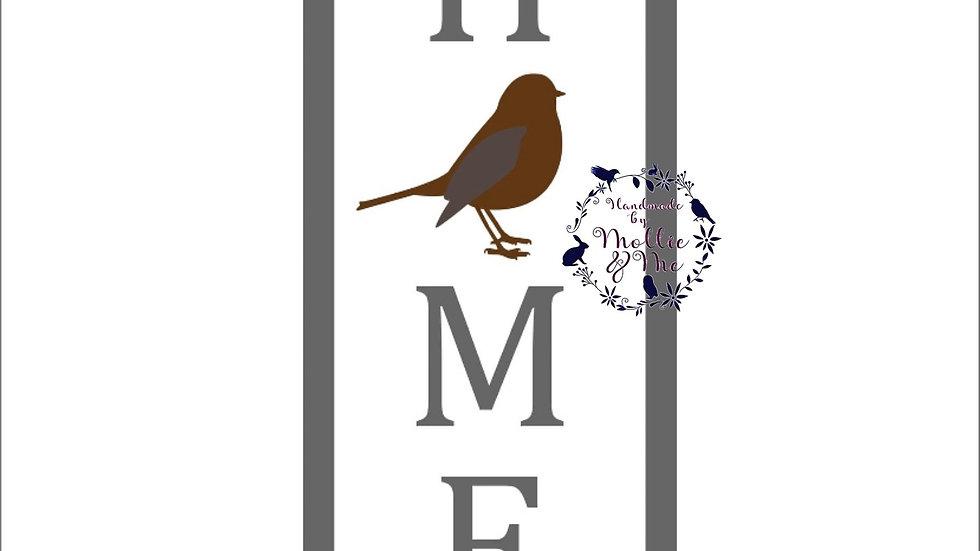 Home Robin plaque