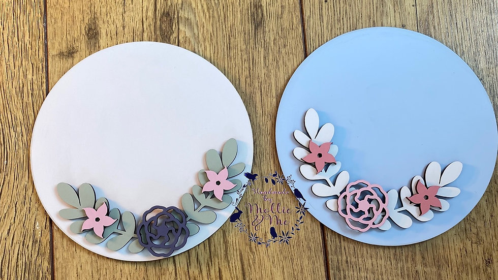 Personalised Mother's Day plaques