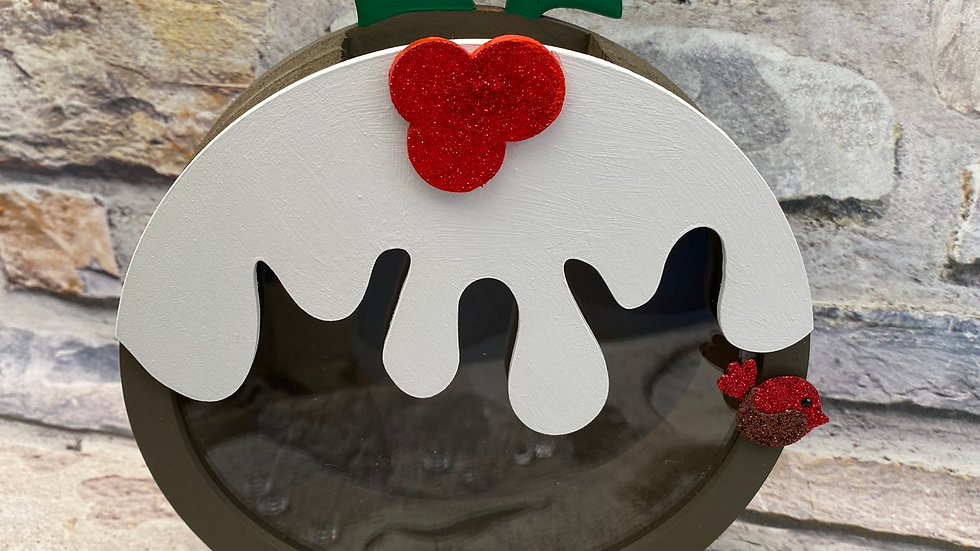Christmas pudding Chocolate fillable