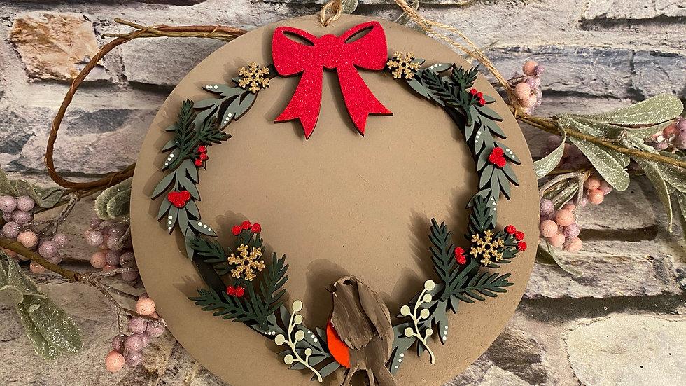 Robin wreath