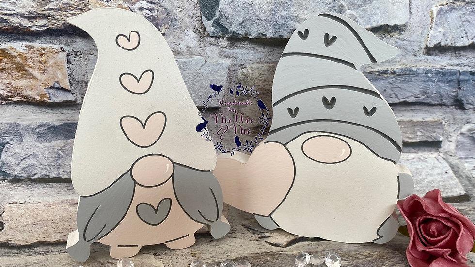 Set of 2 gnomes Mr & mrs Gonks