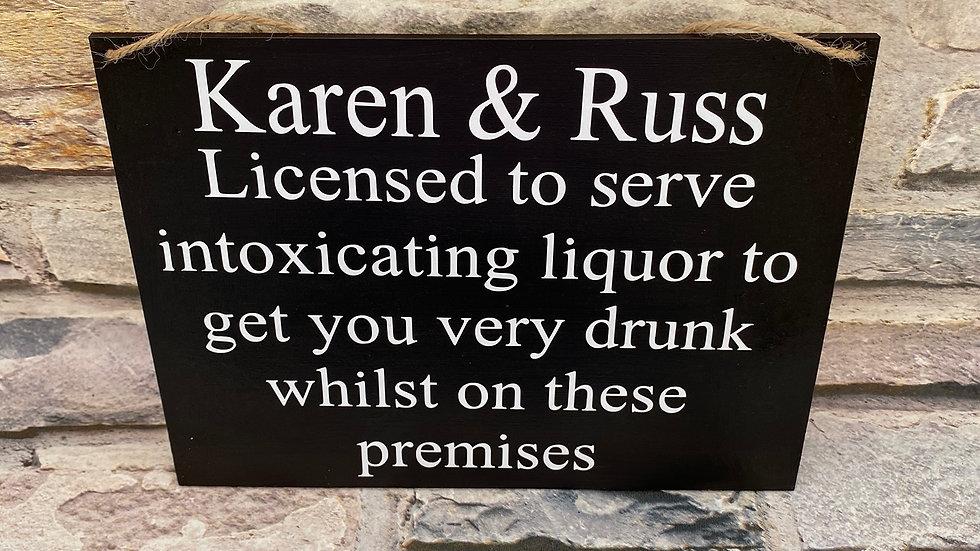 Licensed to serve