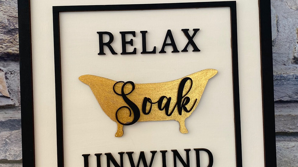 Relax soak unwind