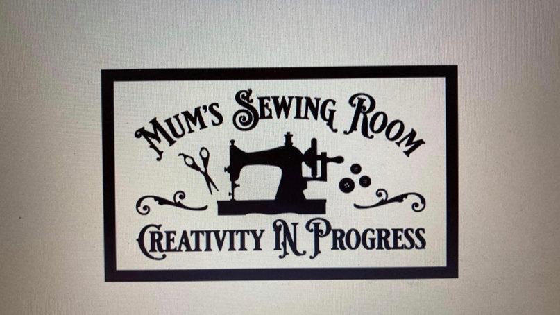 Mums sewing room