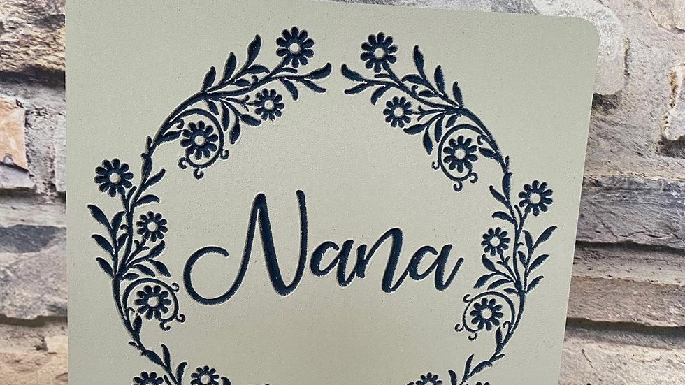 Nana plaque