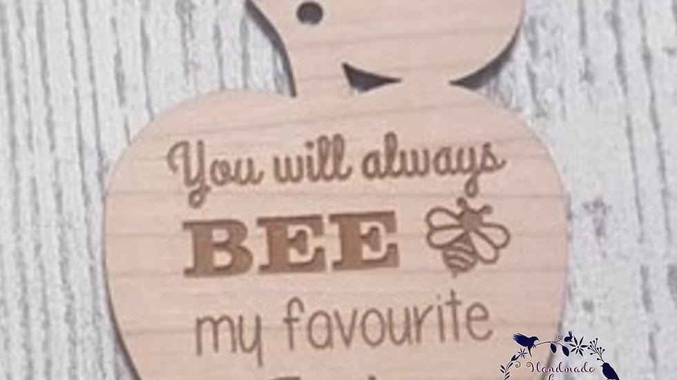 Bee apple teacher