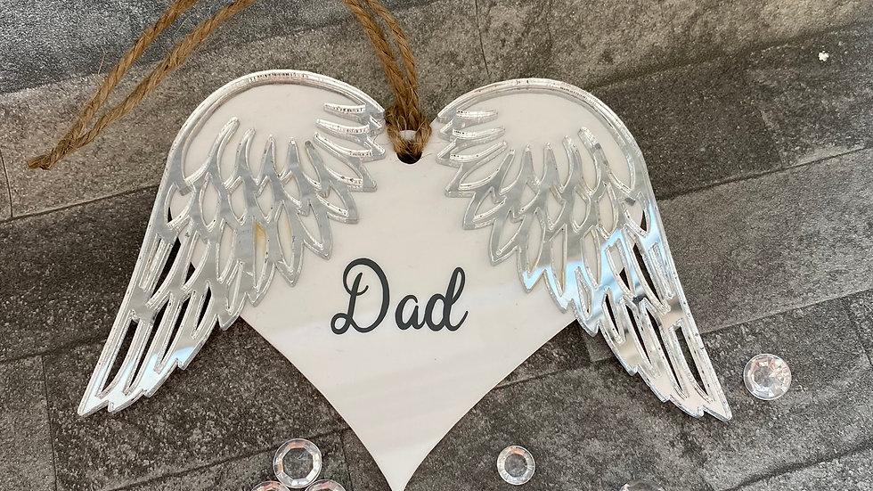 Dad angel wings